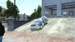 Subaru Impreza WRX STI Rallycross SHOEL Vinyl