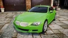 BMW M6 2010 v1.0 para GTA 4