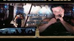 Menu de Rammstein para GTA San Andreas