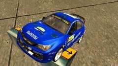 Novo vinil para Subaru Impreza WRX STi