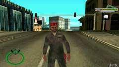 Mechanik HD Skin para GTA San Andreas