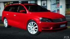 Volkswagen Passat B7 2012 para GTA San Andreas