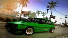 VW Golf MK2 Stanced para GTA San Andreas