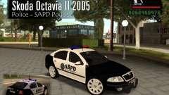 Skoda Octavia II 2005 SAPD POLICE
