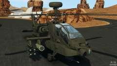 Boeing AH-64 Longbow Apache v1.1 para GTA 4
