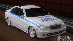 MERCEDES BENZ E500 w211 SE polícia Rússia para GTA San Andreas