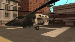 Black Hawk from BO2 para GTA San Andreas
