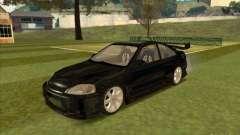 Honda Civic Coupe 1995 from FnF 1 para GTA San Andreas