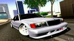 Mercedes-Benz 190E Drift para GTA San Andreas