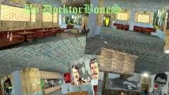 Bar inglês em Gantone no estilo da URSS