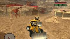 Caterpillar T530 para GTA San Andreas