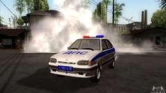 ВАЗ 2114 polícia