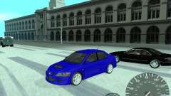 Mitsubishi Lancer Evolution 8 FQ400 para GTA San Andreas