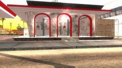 Mesquita e animação, oração