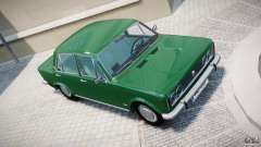 Fiat 125p Polski 1970 para GTA 4