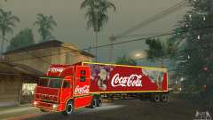 KAMAZ 54112 Natal para GTA San Andreas