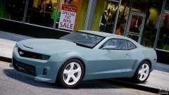 Chevrolet Camaro SS 2009 v2.0 para GTA 4