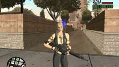 Sonya from Mortal Kombat 9 para GTA San Andreas