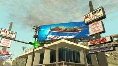 O novo anúncio para a moda para GTA San Andreas