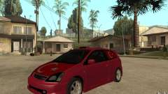 Honda Civic Type R Borgonha para GTA San Andreas