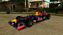 Red Bull RB8 F1 2012 para GTA San Andreas