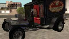 Ford model T 1923 Ice cream truck para GTA San Andreas