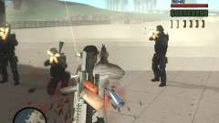 Variedade de armas na Swat para GTA San Andreas
