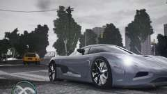 Koenigsegg Agera para GTA 4