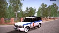 Range Rover Supercharged 2008 polícia departamen