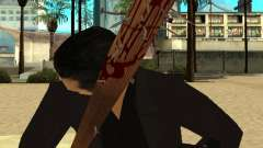 Pedaços sangrentos com unhas HD