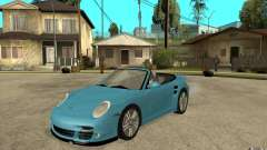 Porsche 911 Cabriolet 2010 para GTA San Andreas