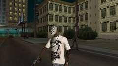 Máscara de Guy Fawkes para GTA San Andreas