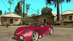 Alfa Romeo 8C GT3 RSX para GTA San Andreas