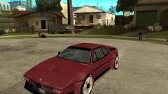 BMW M1 para GTA San Andreas
