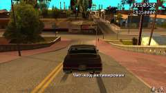 God car mod para GTA San Andreas