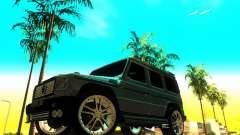 Mercedes-Benz G500 ART para GTA San Andreas