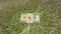Notas dos Estados Unidos nas notas de $ 5