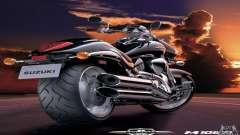 Telas de carregamento e menus no estilo de motocicleta para GTA San Andreas