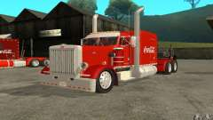 Peterbilt 379 Custom Coca Cola