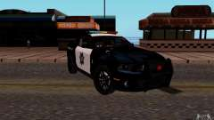 Ford Shelby Mustang GT500 Civilians Cop Cars