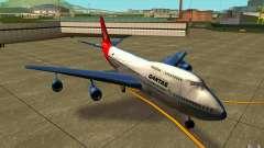 Boeing Qantas 747-400 para GTA San Andreas