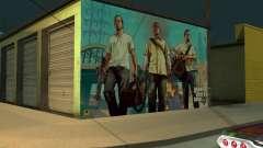 Cartaz de GTA V para GTA San Andreas