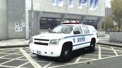 Chevrolet Tahoe NYCPD para GTA 4