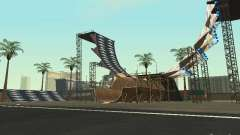 Drift track and stund map