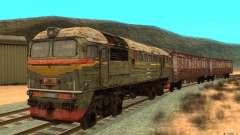 Um trem do jogo STALKER