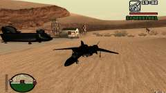 Y-f19 macross Fighter para GTA San Andreas