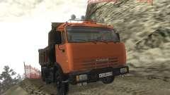 KAMAZ 65115 para GTA San Andreas
