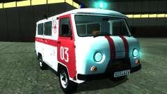UAZ 3962 ambulância
