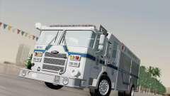 Pierce Fire Rescues. Bone County Hazmat para GTA San Andreas