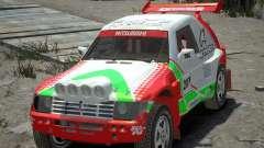 Mitsubishi Pajero Proto Dakar EK86 vinil 2